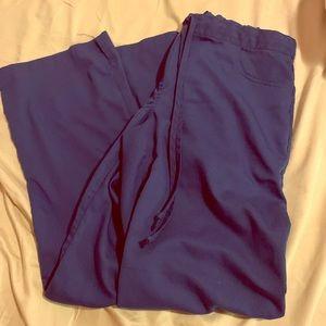 GREYS ANATOMY navy blue scrub pants